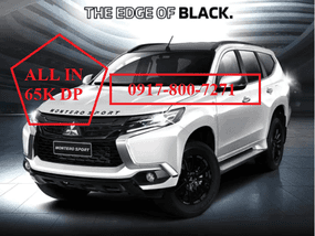 Selling Brand New Montero Sports Black Series 2019 AT in Santa Rosa