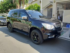 Black 2013 Chevrolet Trailblazer at 80000 km for sale