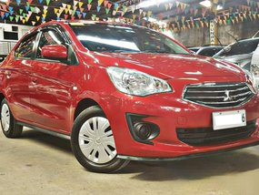 Red 2016 Mitsubishi Mirage G4 Sedan for sale in Quezon City