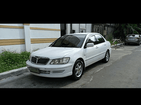 Selling White Mitsubishi Lancer 2003 Sedan in Tarlac