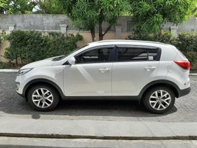 Sell White 2014 Kia Sportage at 35000 km in Quezon City