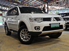 White 2013 Mitsubishi Montero Automatic Diesel for sale