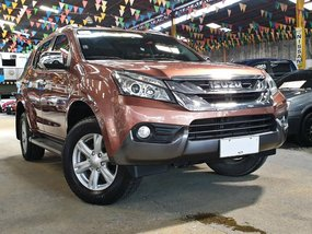 Used 2015 Isuzu Mu-X for sale in Quezon City