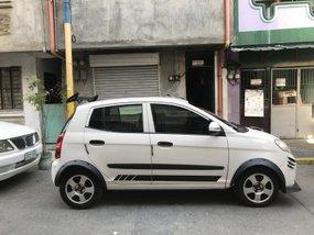 Selling White Kia Picanto 2008 Hatchback in Metro Manila