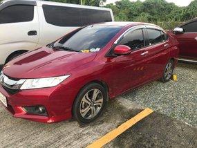 Selling Red Honda City 2017 Automatic in Metro Manila