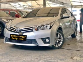Silver 2015 Toyota Altis at 45000 km for sale in Makati