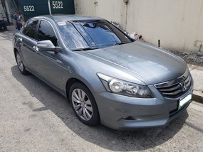 Grey Honda Accord 2.4 2009 Automatic for sale in Makati