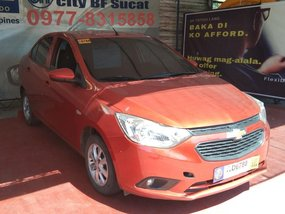 Sell Orange 2017 Chevrolet Sail at 60000 km in Manila