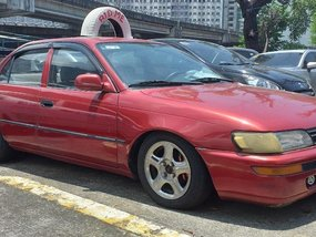 Red Toyota Corolla 1995 for sale in Parañaque