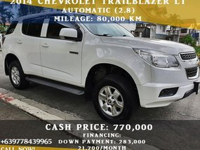 Chevrolet Trailblazer LT Diesel 2014 AT at 80000 km Las Piñas