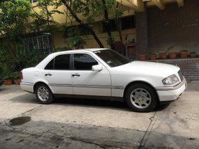 White 1995 Mercedes-Benz C220 Automatic for sale in Metro Manila