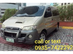 2004 Hyundai Starex for sale in Quezon City