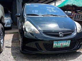 Black 2007 Honda Jazz for sale in Isabela
