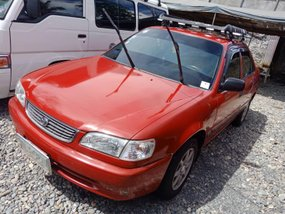 Red 2000 Toyota Corolla at 90000 km for sale in Isabela