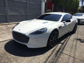 White Aston Martin Rapide S at 4000 km for sale in Makati