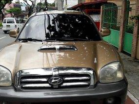 2002 Hyundai Santa Fe Automatic Diesel for sale
