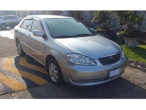 Silver Toyota Corolla Altis 2005 for sale in Quezon City