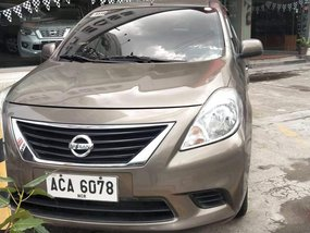 Brown 2014 Nissan Almera at 56000 km for sale