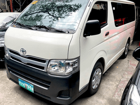 Selling 2nd Hand Toyota Hiace 2012 Manual at 50000 km