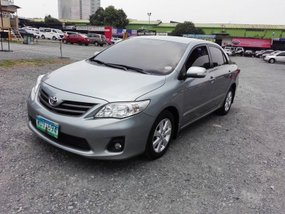 Silver 2013 Toyota Altis Automatic for sale in Pasig