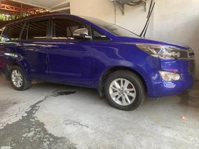 Selling Blue Toyota Innova 2017 in Quezon City