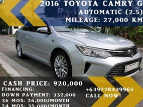 Toyota Camry 2016 at 27000 km for sale in Las Piñas