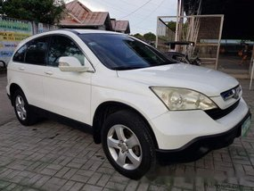 Sell White 2008 Honda Cr-V in Bohol