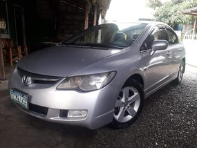 Sell Silver 2007 Honda Civic at 89000 km in Makati