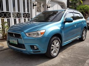 Sell Blue 2010 Mitsubishi Asx Automatic Gasoline in Cainta
