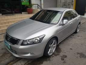 Sell Silver 2009 Honda Accord at 63000 km in Makati