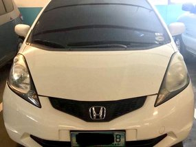 White 2009 Honda Jazz Hatchback for sale in Cainta