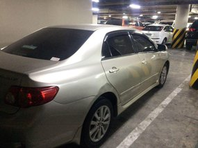 2009 Toyota Corolla Altis for sale in Makati