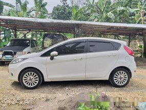 White Ford Fiesta 2012 for sale in Las Pinas