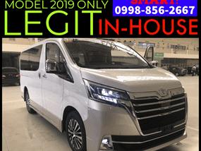 Selling Brand New Toyota Hiace 2019 in Laguna