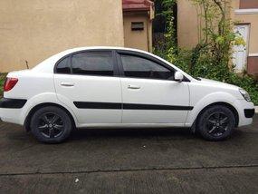 White 2009 Kia Rio Sedan for sale in Quezon City