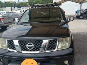 Black 2009 Nissan Frontier Navara Truck Automatic Diesel for sale