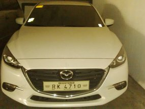 White 2017 Mazda 3 Hatchback at 15000 km for sale