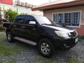 Black 2014 Toyota Hilux Manual Diesel for sale in Isabela