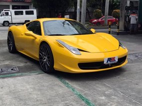 2014 Ferrari 458 for sale in Quezon City