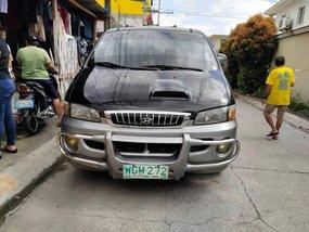 Selling Black Hyundai Starex 1999 Automatic at 96000 km