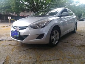 Silver 2012 Hyundai Elantra for sale in Metro Manila