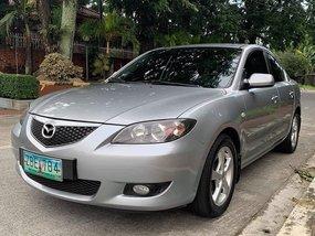 Silver 2005 Mazda 3 Automatic Gasoline for sale in Cavite