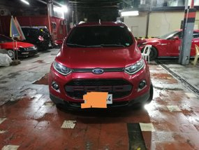 Red Ford Ecosport 2014 at 47000 km for sale