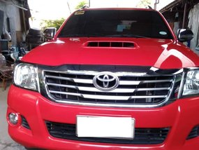 Sell Red 2015 Toyota Hilux Manual in Maguindanao