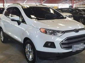 Sell White 2016 Ford Ecosport at 43000 km