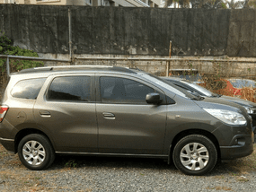 Selling 2nd Hand Chevrolet Spin 2015 at 40000 km