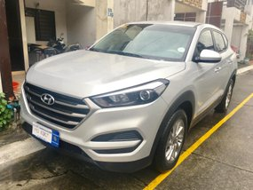 Silver 2017 Hyundai Tucson at 13000 km for sale in Metro Manila