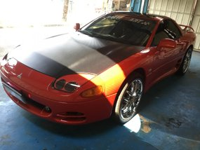 Selling Red Mitsubishi 3000Gt 1994 Automatic Gasoline in Bulacan