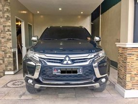 Black Mitsubishi Montero Sport 2016 for sale in Davao City