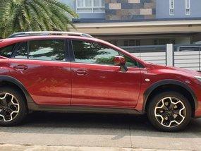 Selling Red Subaru Xv 2015 at 25000 km in Metro Manila